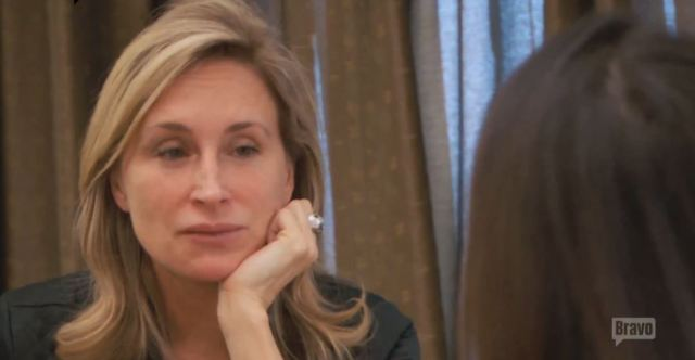 Sonja listenting to beth