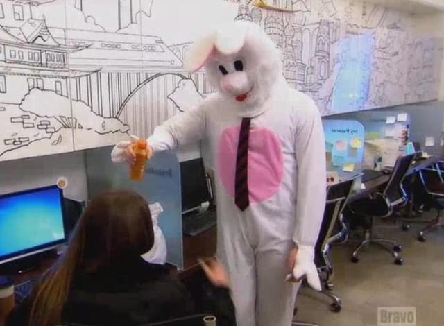 10 - bunny suit